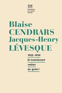 Télécharger le livre : Blaise Cendrars - Jacques-Henry Levesque