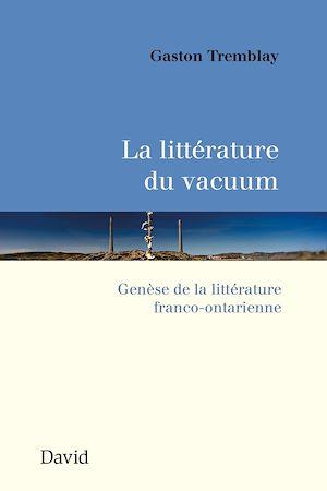 Téléchargez le livre :  La littérature du vacuum