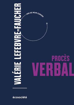Téléchargez le livre :  Procès verbal