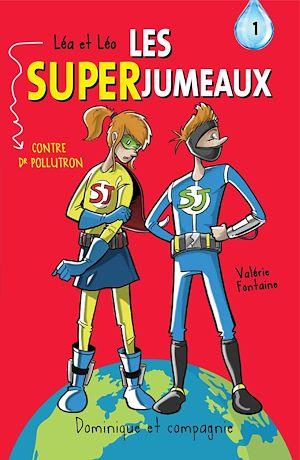 Téléchargez le livre :  Léa et Léo - Les SUPERJUMEAUX - 1