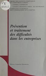 Télécharger cet ebook : Prévention et traitement des difficultés dans les entreprises