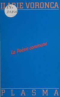 Télécharger le livre : La Poésie commune