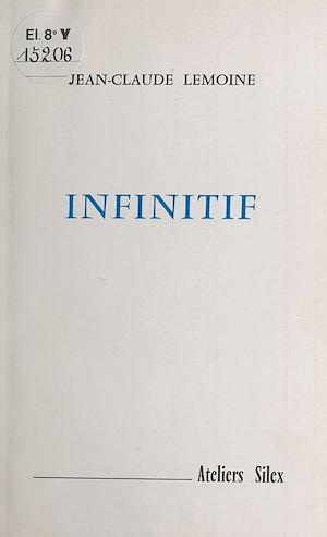 Téléchargez le livre :  Infinitif