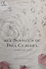 Télécharger cet ebook : Aux sources de Paul Claudel