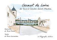 Télécharger le livre : Carnet de Loire, de Tours à Candes-Saint-Martin