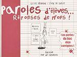 Télécharger cet ebook : Paroles d'élèves, réponses de profs