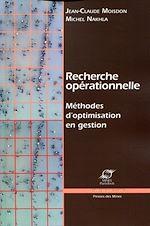Télécharger cet ebook : Recherche opérationnelle