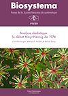 Téléchargez le livre numérique:  Biosystema : Analyse cladistique? : le débat Mayr-Hennig de 1974 - n°29/2014
