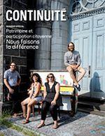 Télécharger le livre :  Continuité. No. 158, Automne 2018