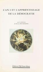 Télécharger le livre :  L'An I et l'apprentissage de la démocratie