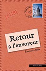 Télécharger le livre :  Retour à l'envoyeur