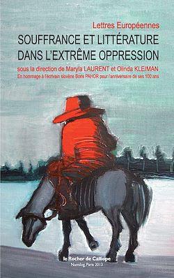 Téléchargez le livre numérique:  Souffrance et littérature dans l'extrême oppression