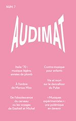 Télécharger le livre :  Audimat - Revue n°7