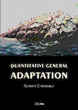 Téléchargez le livre numérique:  Quantitative general adaptation