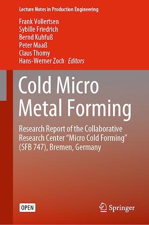 Téléchargez le livre :  Cold Micro Metal Forming