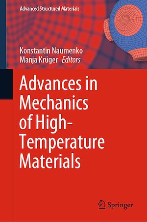 Téléchargez le livre :  Advances in Mechanics of High-Temperature Materials