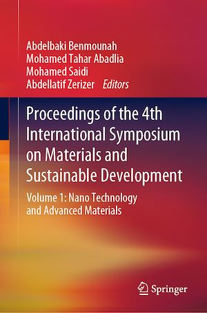 Téléchargez le livre :  Proceedings of the 4th International Symposium on Materials and Sustainable Development