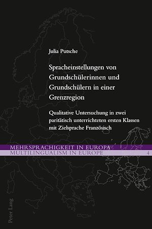 Téléchargez le livre :  Spracheinstellungen von Grundschuelerinnen und Grundschuelern in einer Grenzregion