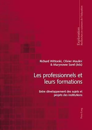 Téléchargez le livre :  Les professionnels et leurs formations