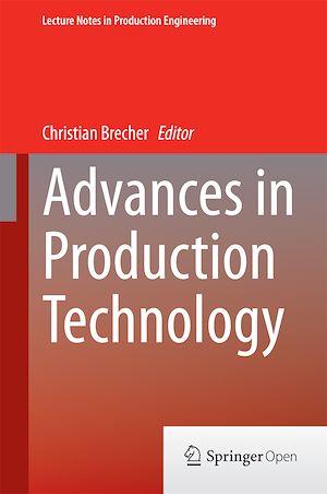 Téléchargez le livre :  Advances in Production Technology