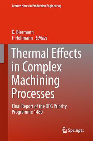 Téléchargez le livre :  Thermal Effects in Complex Machining Processes