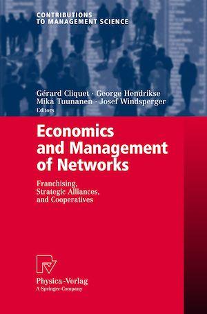 Téléchargez le livre :  Economics and Management of Networks
