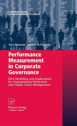 Téléchargez le livre :  Performance Measurement in Corporate Governance