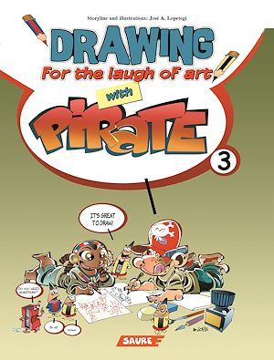 Téléchargez le livre :  Pirate : Drawing for the laugh of art with Pirate - 3