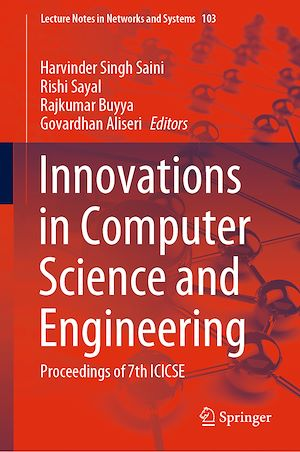 Téléchargez le livre :  Innovations in Computer Science and Engineering