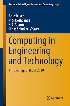 Téléchargez le livre :  Computing in Engineering and Technology