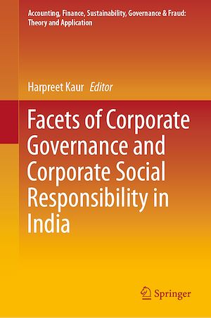 Téléchargez le livre :  Facets of Corporate Governance and Corporate Social Responsibility in India