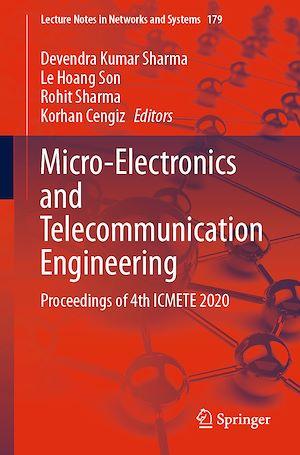 Téléchargez le livre :  Micro-Electronics and Telecommunication Engineering