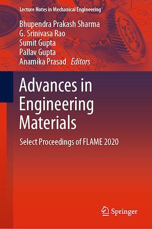 Téléchargez le livre :  Advances in Engineering Materials