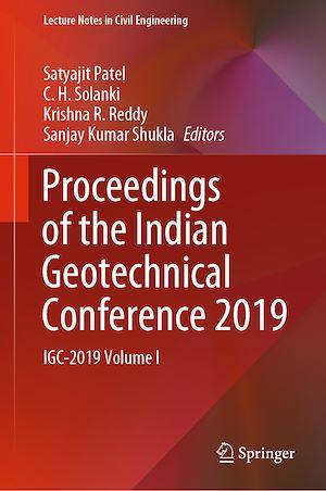 Téléchargez le livre :  Proceedings of the Indian Geotechnical Conference 2019