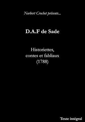 Historiettes Contes Et Fabliaux Ebook Marquis De Sade
