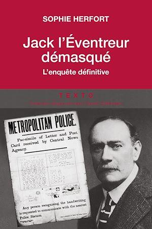 Téléchargez le livre :  Jack l'éventreur démasqué