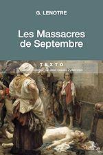 Télécharger le livre :  Les Massacres de Septembre