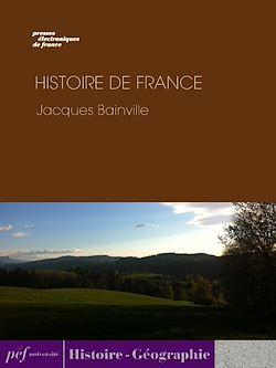 Téléchargez le livre numérique:  Histoire de France