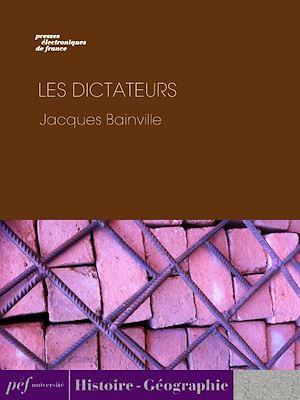 Téléchargez le livre :  Les Dictateurs