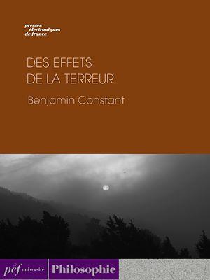 Téléchargez le livre :  Des effets de la terreur