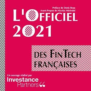Téléchargez le livre :  L'Officiel 2021 des FinTech Françaises