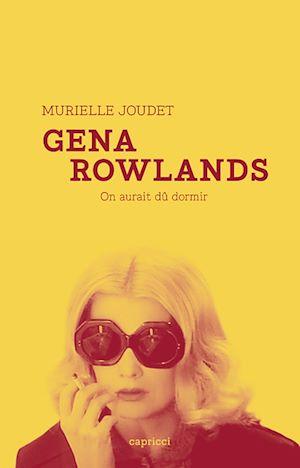 Téléchargez le livre :  Gena Rowlands