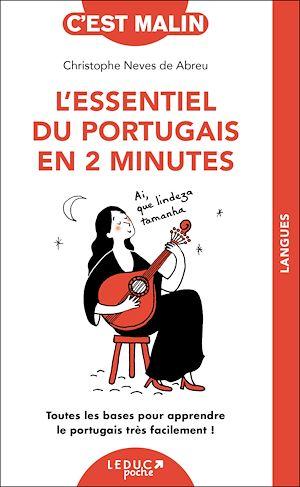 Téléchargez le livre :  L'essentiel du portugais en 2 minutes, c'est malin