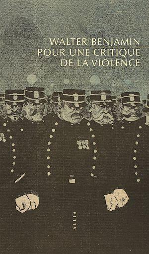 Téléchargez le livre :  Pour une critique de la violence