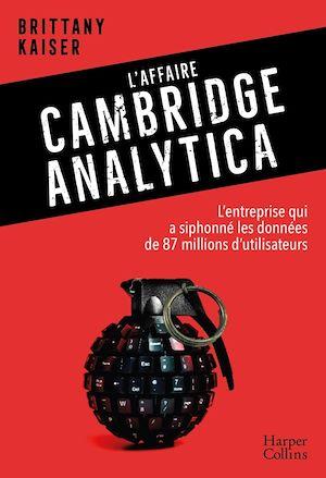 Image de couverture (L'affaire Cambridge Analytica)
