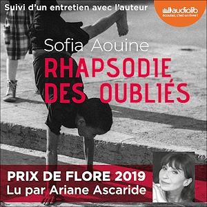 Rhapsodie des oubliés | Aouine, Sofia. Auteur