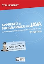 Télécharger cet ebook : Apprenez à programmer en Java - La programmation professionnelle à portée de tous!