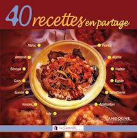 Télécharger le livre : 40 recettes en partage