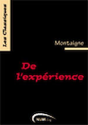 Téléchargez le livre :  De l'expérience